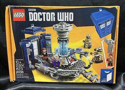 Lego Ideas LEGO BBC Doctor Who TARDIS Set 21304 Brand New & Sealed *Retired*