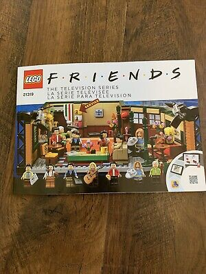 Lego Instruction Manual - 21319 Friends Central Perk - INSTRUCTION MANUAL ONLY