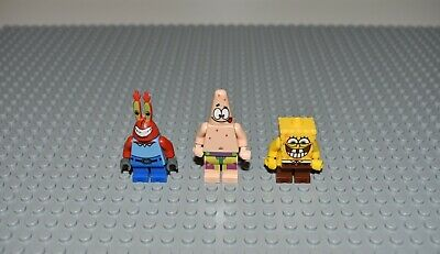 LEGO Spongebob 3833 Krusty Krab Adventures Minifigure's only
