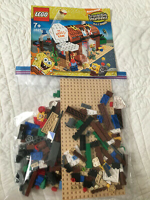 LEGO Spongebob - Krusty Krab 3825 - Some Missing Pieces - Includes some MiniFigs