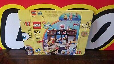 Lego - Spongebob Krusty Krab Adventures 3833 - Empty BOX Only! No Legos