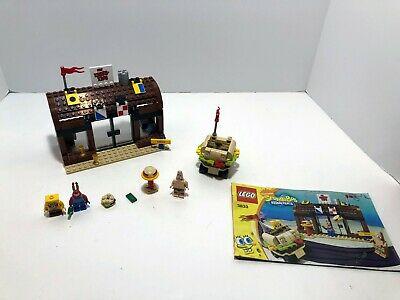 LEGO SpongeBob: Krusty Krab Adventures 3833. Instructions