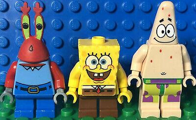Lego Spongebob Krusty Krab Minifigures Mr Krabs Patrick