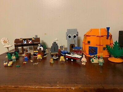 LEGO SpongeBob SquarePants 3825 Krusty Krab and 3827 Adventures in Bikini Bottom