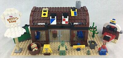 Lego SpongeBob SquarePants Krusty Krab (3825) 100% Complete