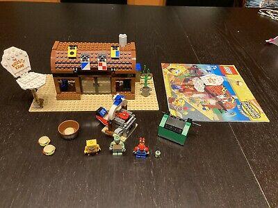 Lego SpongeBob SquarePants Krusty Krab Set 3825, two replacement parts