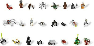 LEGO Star Wars 7958 2011 Advent Calendar 100% Complete w/ Instructions & Figs