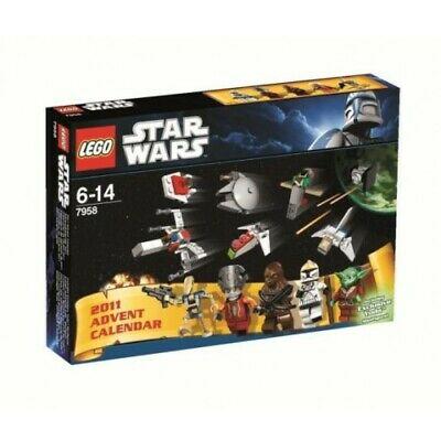 LEGO Star Wars Advent Calendar Set 7958 - New Sealed Box & Exclusive Yoda Figure