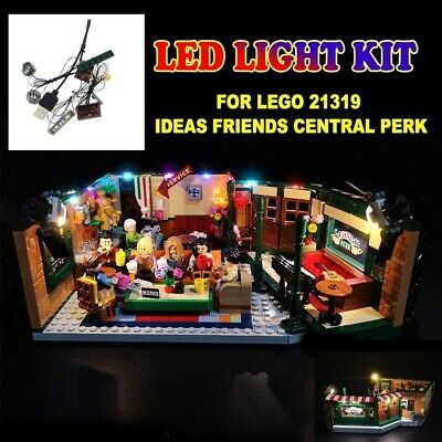 LIGHT BRICKS - LED Light kit for LEGO Friends Central Perk 21319 Building Blocks