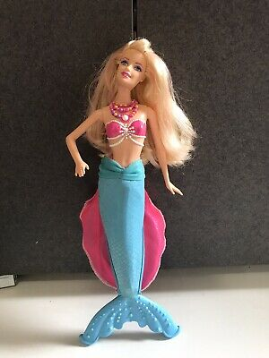 MATTEL Barbie doll The Pearl Princess Lumina 2-in-1 Doll Mermaid 2013 with tail