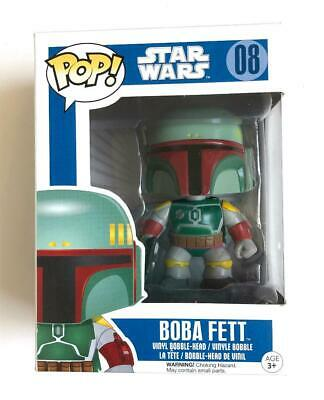 Mint Funko Pop Star Wars Boba Fett Rare