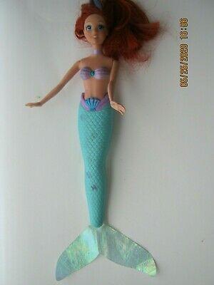 My Little Mermaid Ariel Doll Disney Tail Moves 2007 Mattel