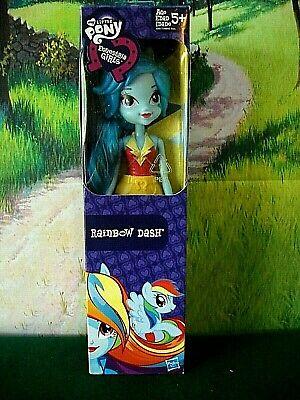 """My Little Pony Equestria Girls, Rainbow Dash... 9"""" Tall NIB"""