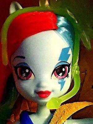 """My Little Pony Equestria Girls """"Rainbow Rocks"""" Rainbow Dash Doll by Hasbro NIP"""