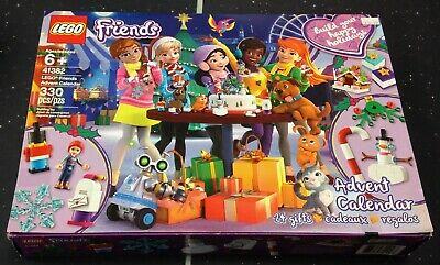 NEW LEGO Friends 41382 Christmas Advent Calendar Heartlake City 24 Gifts RETIRED