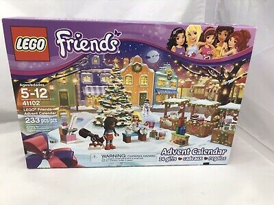 New Lego Friends Advent Calendar Set 41102 Sealed Bags opened box