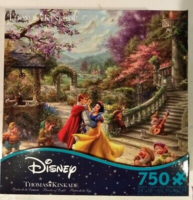 NEW Thomas Kinkade Disney's Snow White 750 PC Ceaco Puzzle