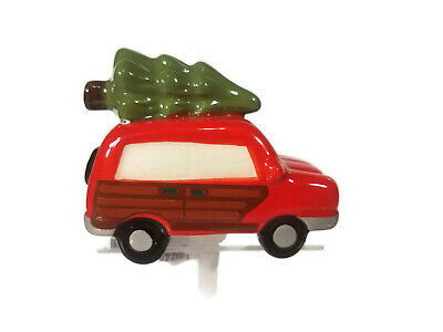 NORA FLEMING Mini Just Like the Griswolds (Truck with Tree) A147 *DAMAGE*