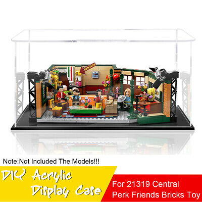 Plastic Sheet Acrylic Board For LEGO 21319 Central Perk Friends Bricks Toys