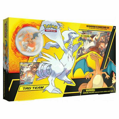Pokemon RESHIRAM & CHARIZARD GX BOX Figure Collection Sealed Packs IN STOCK