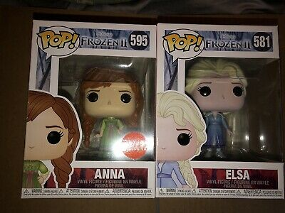 POP Funko FROZEN 2 Anna & Elsa Michaels EXCLUSIVE
