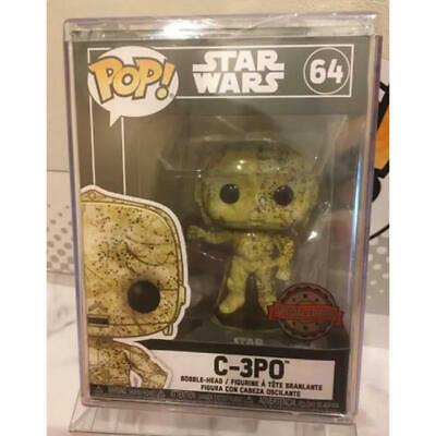 Rare Funko Pop Star Wars C-3Po Futura Limited Edition