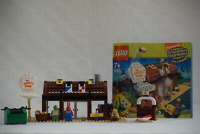 Rare LEGO Krusty Krab Set- 3825 (Includes Instructions) Great Condition