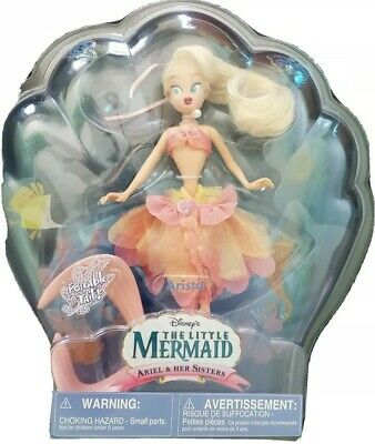 RARE! NEW! Disney Little Mermaid Arista Sister Ariel Doll POSEABLE TAIL NIB!