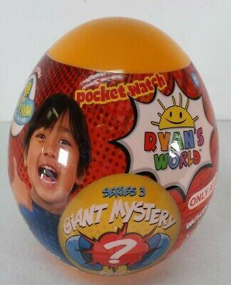 Ryan's World Giant Mystery Egg Orange Series 3 Target Exclusive New Free Ship