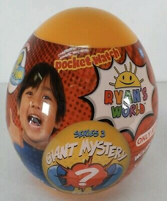 Ryan's World Giant Mystery Egg Orange Series 3 Target Exclusive New. Ships USPS