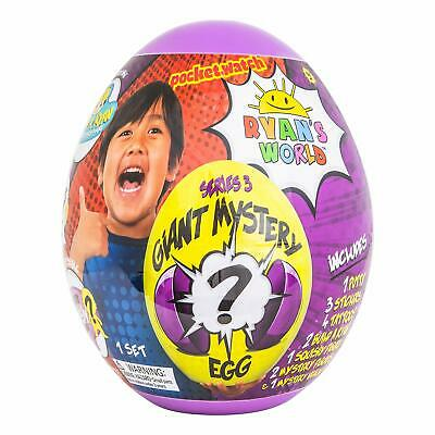 RYAN'S WORLD Giant Mystery Egg Series 3 - Free Shipping