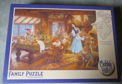 Scott Gustafson SNOW WHITE AND THE SEVEN DWARFS 400 pieces COMPLETE