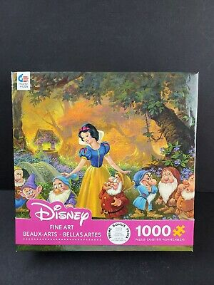 Snow White & The Seven Dwarves Ceaco Walt Disney Fine Art Jigsaw Puzzle 1000 NEW