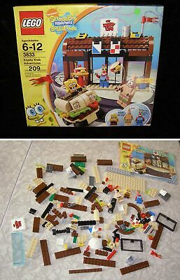 Sponge Bob Square Pants Lego #3833 Krusty Krab Adventures
