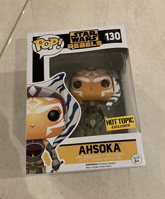 Star Wars Rebels: Ahsoka #130 EXCLUSIVE Funko Pop Vinyl Figure NEW RARE! +PROTEC