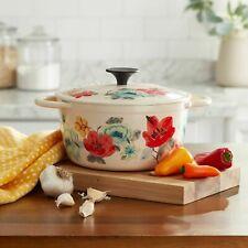 The Pioneer Woman Vintage Bloom 3-Quart Dutch Oven