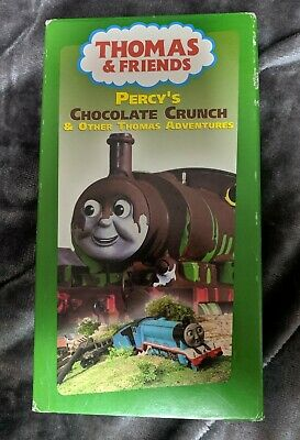 Thomas And Friends VHS Percy's Chocolate Crunch