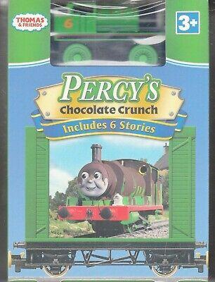 Thomas Friends - Percys Chocolate Crunch (DVD, 2009, With Toy Train)