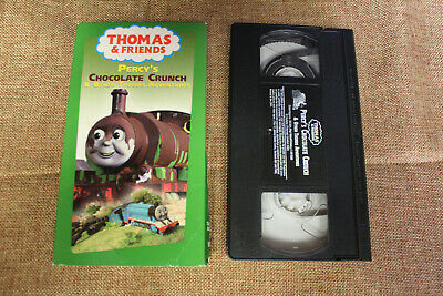 Thomas & Friends Percys Chocolate Crunch & Other Thomas Adventures (VHS 2003)