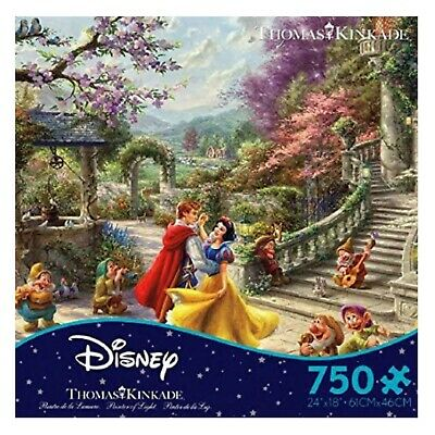 Thomas Kinkade Disney Snow White Dancing in the Sunlight 750 Piece Ceaco Puzzle