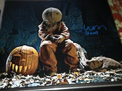 Trick R' Treat QUINN LORD SIGNED 16x20 PHOTO SAM HORROR HALLOWEEN 2