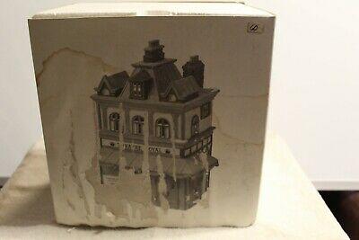 Vintage Dept 56 Dickens' Village Series Theatre Royal 1989 #55840 Christmas Bld