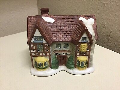 Vintage Dickens of London Christmas Village Replacement House GAD'S HILL