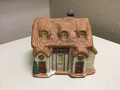Vtg Dickens of London Christmas Village Replacement House BOB CRATCHIT