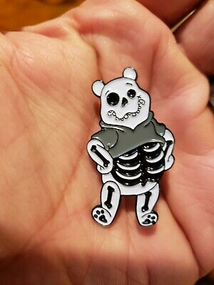 Winnie The Pooh Skeleton Disney Enamel Pin Horror Tigger SOLD OUT Halloween