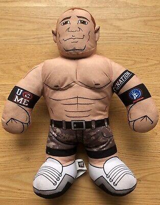 "WWE John Cena Cenation Plush Talking Wrestler Doll 2011 Brawlin Buddies 16"" Tall"