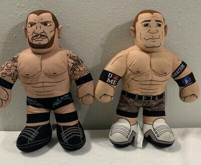 WWE WWF John Cena Brawlin Buddy Plush Lot Randy Orton