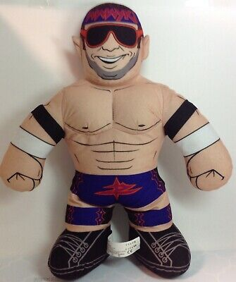 "WWE Zack Ryder Zach Plush Sound 16"" Brawlin Buddies 2012 Wrestling New Batteries"