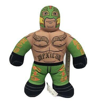 "WWF Wrestling Brawlin Buddy 16""Tall Rey Mysterio Plush Figure Pillow The Mexican"