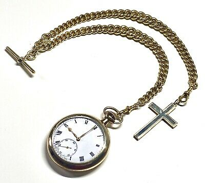 Vintage Solid Gold Pocket Watch Chain